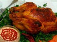مرغ شکم پر را بدون کمک فر آماده کنید