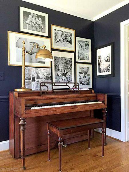 رنگ های تیره مناسب برای دیوارهای خانه