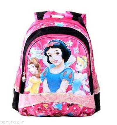 مدل های کیف مدرسه بچگانه جدید و زیبا