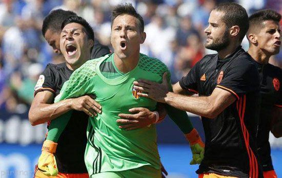 عکس های ورزشی برگزیده لیگ فوتبال اروپا
