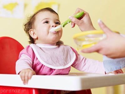 دادن میوه به نوزاد برای اولین بار