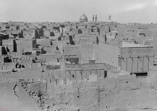 تصاویر بارگاه حضرت علی (ع) 80 سال پیش
