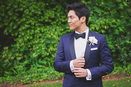 مدل های کت و کراوات داماد جدید و شیک