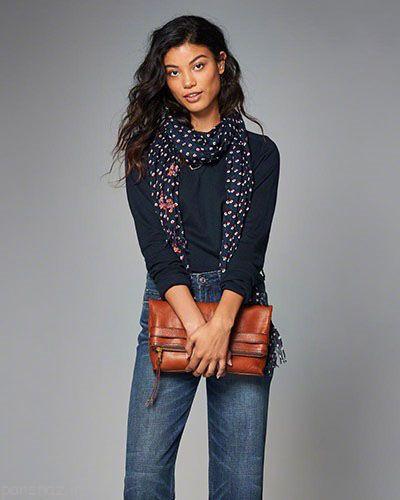 مدل لباس زنانه از برند معروف Abercrombie & Fitch