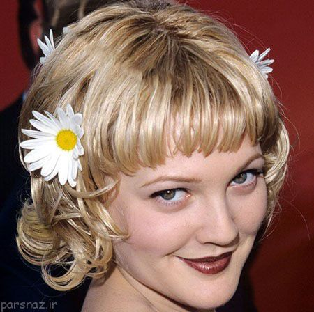 مدل موهای چتری به سبک زنان مشهور جهان