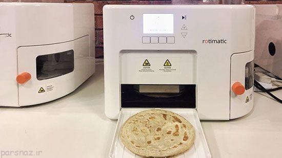 این ربات برای شما نان می پزد