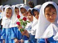 کودکان در اولین روز مدرسه رفتن