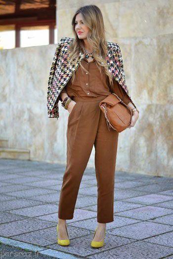مدل کت های پاییزی برای خانم ها بسیار شیک و زیبا