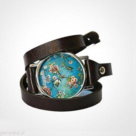 انواع مدل ساعت مچی با طرح های زیبا و خاص
