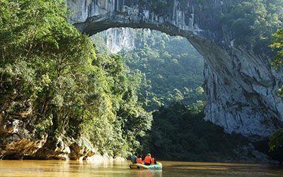 عظیم ترین پل طبیعی دنیا را ببینید