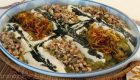 تزیین غذا حلیم بادمجان برای کدبانو