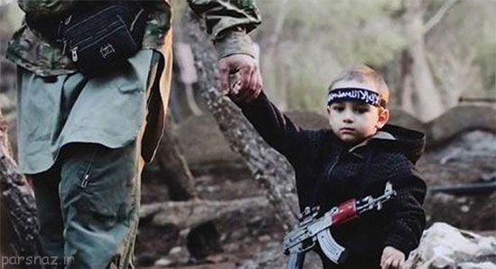 کودکانی که دست به حمله انتحاری می زنند