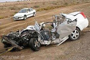 مرگ تصادفات جاده ای معادل سقوط یک هواپیما