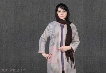 مدل مانتو جدید از برند ایرانی دکمه