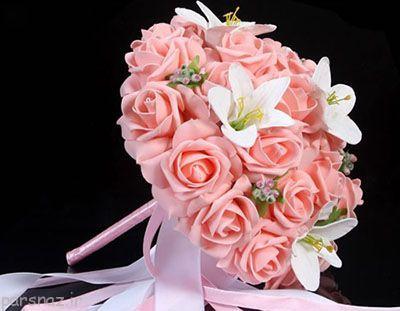 مدل دسته گل های زیبا برای عروس خانم ها