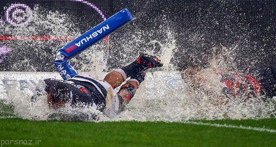 عکس های برگزیده ورزشی در هفته قبل