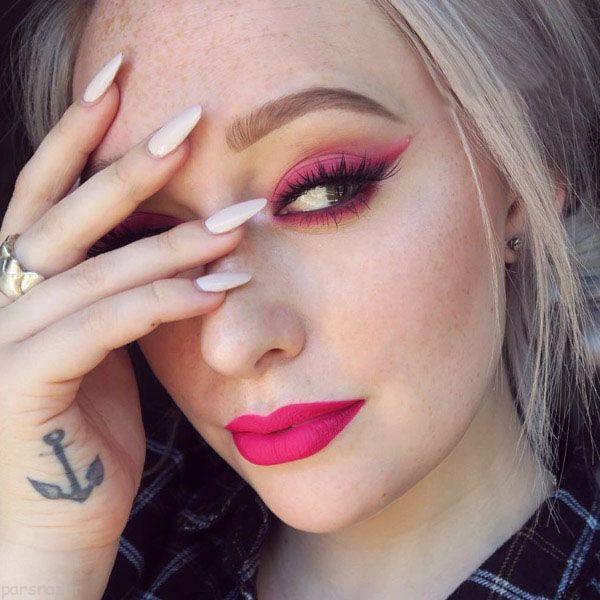 مدل جدید آرایش صورت کاری از Jkissa