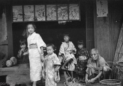 کشور ژاپن 100 سال پیش به روایت عکس