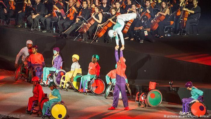 عکسهای جالب از پایان بازی های پارالمپیک 2016