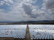 نیروگاه خورشیدی که پرندگان را آتش می زند