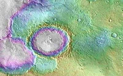 دریاچه های قدیمی روی سطح مریخ