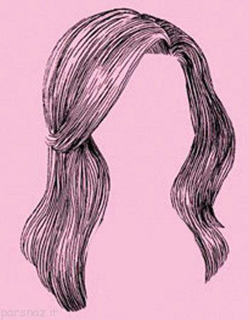 معرفی مدل مو متناسب با شکل صورت