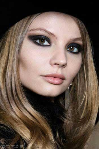 جدیدترین مدل آرایش صورت به سبک پاییزی