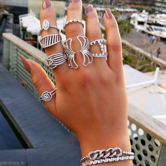 مدل جواهرات انگشتر و دستبند برند Terinas Jewellery