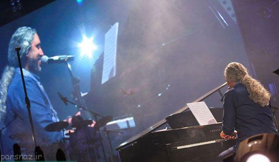 عکس های مازیار فلاحی در کنسرت برج میلاد
