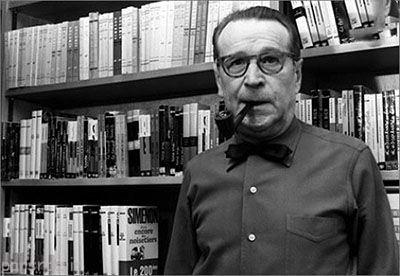 درباره ژرژ سیمون نویسنده مشهور بلژیکی