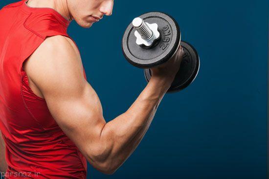 تاثیر وزنه زدن در سلامت استخوان