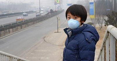 آلودگی هوا روی کودکان چه تاثیری دارد؟