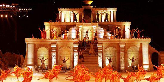 فستیوال های لوکس در دوبی را ببینید