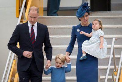 زیباترین زن خانواده سلطنتی انگلیس به کانادا سفر کرد
