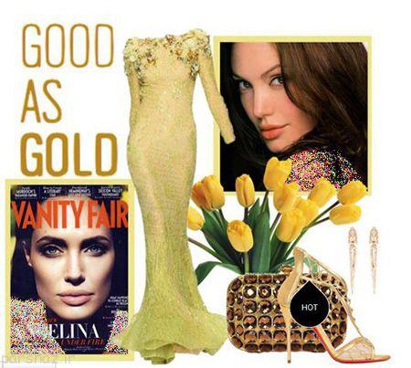 گالری مدل لباس شب به انتخاب آنجلینا جولی