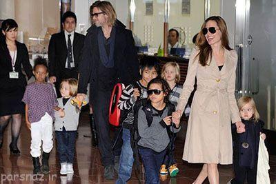 درباره فرزندان خانواده آنجلینا جولی و برد پیت