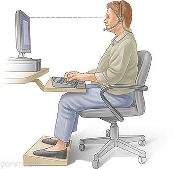 خستگی ساعد هنگام کار با کامپیوتر