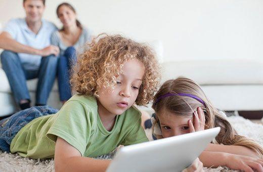 حضور فعال نوزادان در فضای مجازی