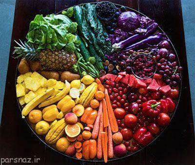 نکاتی درباره رنگ غذاها و سلامتی