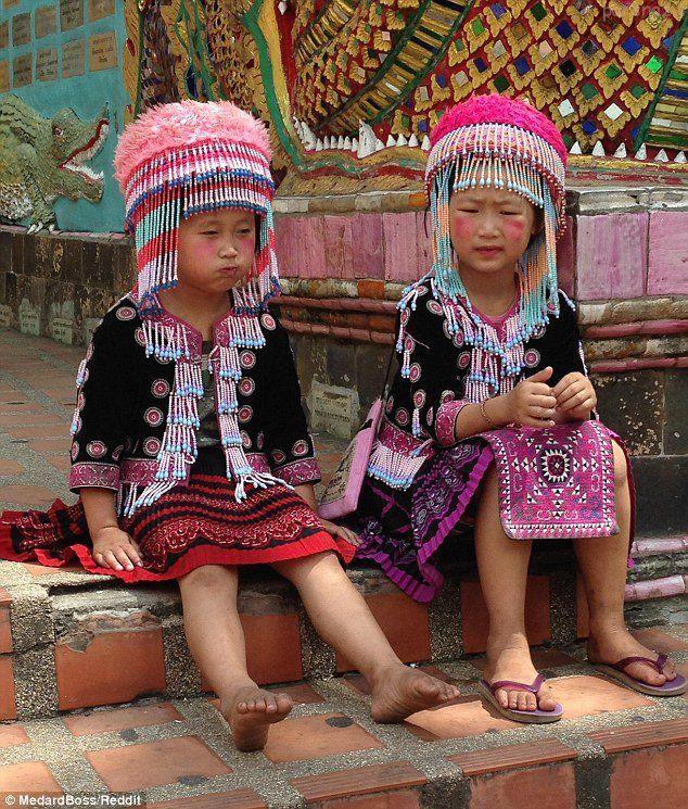 سرقت های کودکانه دختران تایلندی +عکس