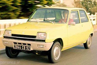 رنو 5 خودروی خاطره انگیز دوران قدیم
