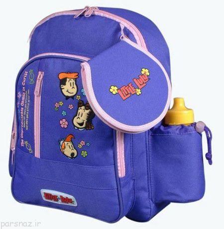 انواع کیف های مدرسه پسرانه مناسب و زیبا