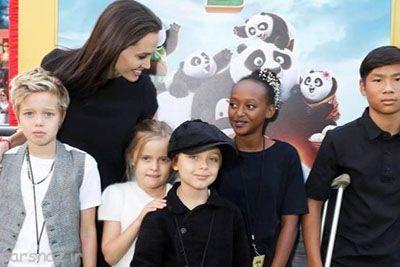 آنجلینا جولی بعد از جدایی با فرزندانش چه خواهد کرد؟