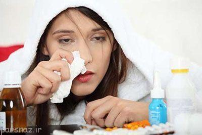 سرماخوردگی و آنفلوانزا چه تفاوتی دارند؟