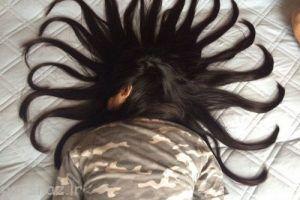 دختری با مدل های موی بسیار زیبا و جذاب