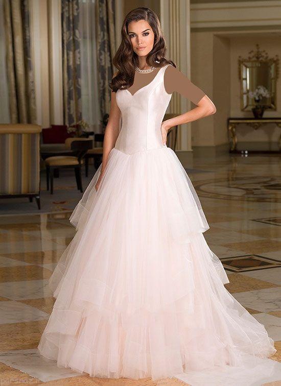 لباس عروس های شیک و زیبا از برند Justinalexander