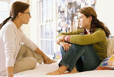 آغاز پریود در دختران نوجوان و کمک مادران