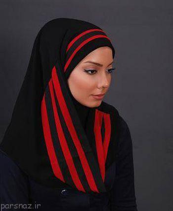 مدل های مقنعه بسیار زیبا برای خانم های شیک پوش