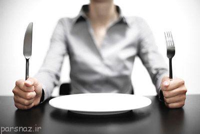 دستور ذهن برای گرسنه شدن انسان