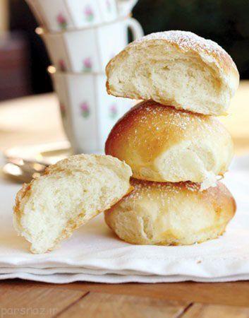 نان بروتچن عسلی مناسب برای تغذیه مدرسه